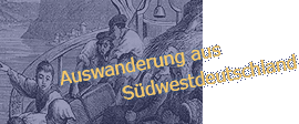 Logo: Emigration from Southwest Germany